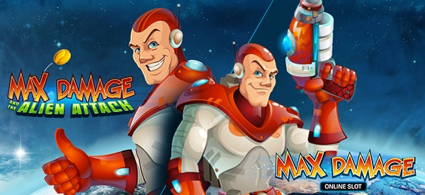 Игровой слот Max Damage and the Alien Attack